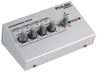 PULSE MMX401  Mini Microphone Mixer, 4 Channel